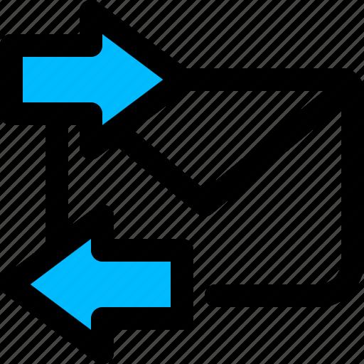 auto, email, message, responder icon