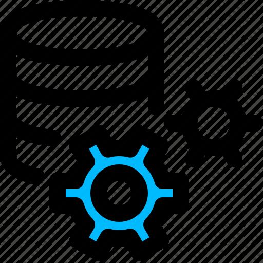 database, service, settings, sql icon