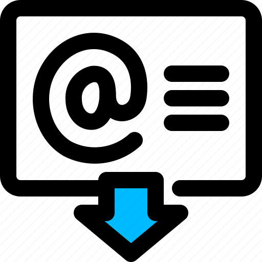address, email, import icon