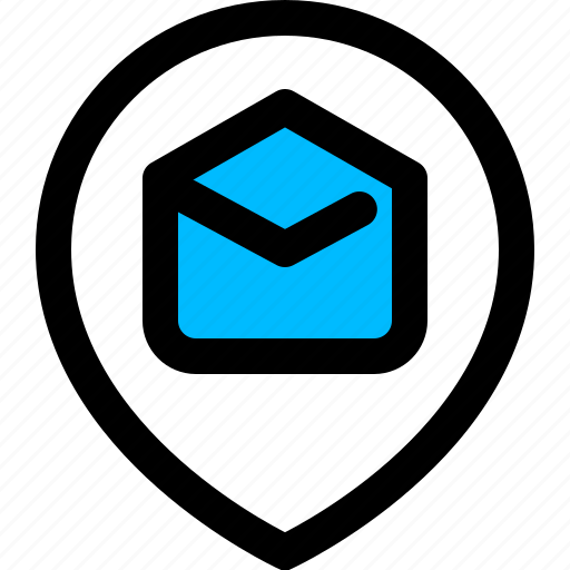 delivery, email, track icon