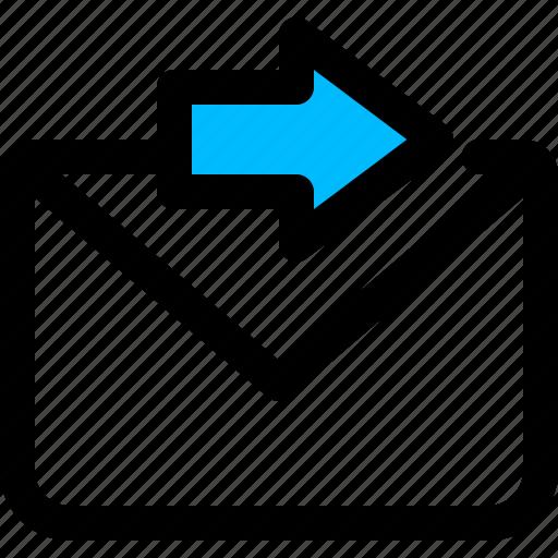 email, forward, forwarder icon