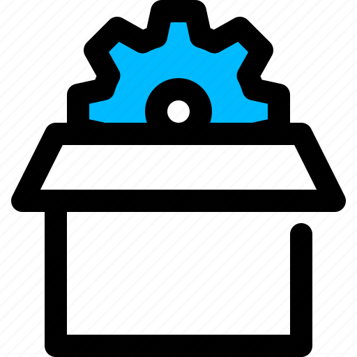packages, seo, service icon