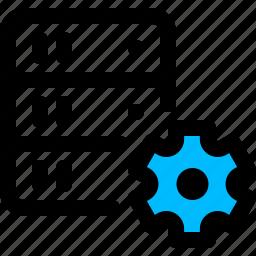 config, configuration, server, settings icon