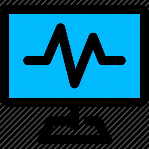 activity, health, monitor, system icon