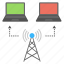 internet connection, wifi connection, wifi internet tower, wireless connection, wireless technology icon