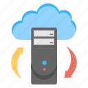 backup system concept, cloud computing, cloud data backup, cloud data storage, cloud server icon