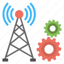 signal point management, tower installation, tower upgradation, wifi tower maintenance, wireless tower automation icon