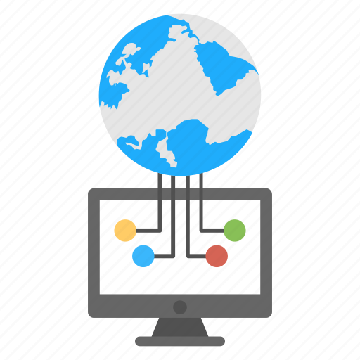 global communication, global network, global technology, web connection, web internet icon