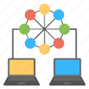 digital connection, internet networking concept, social connection, social networking icon