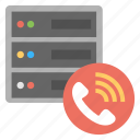 customer support, hosting call center, server service, server technical support, web hosting support icon