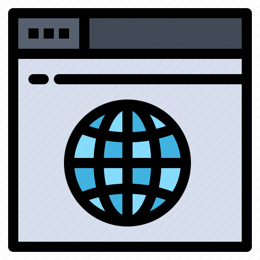 internet, network, server, web icon