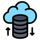 cloud, hosting, network