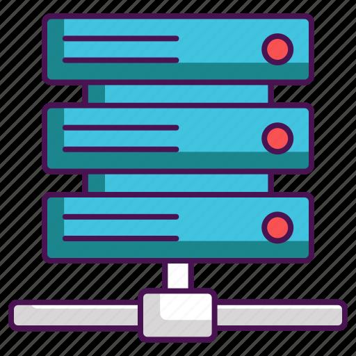 Database, hosting, network, server icon - Download on Iconfinder