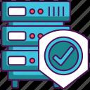 antivirus, database, hosting, protection, server, shield