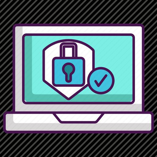 antivirus, firewall, protection, system icon
