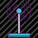broadband, connection, internet, modem, wifi, wireless icon