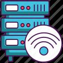 database, hosting, server, wifi, wireless