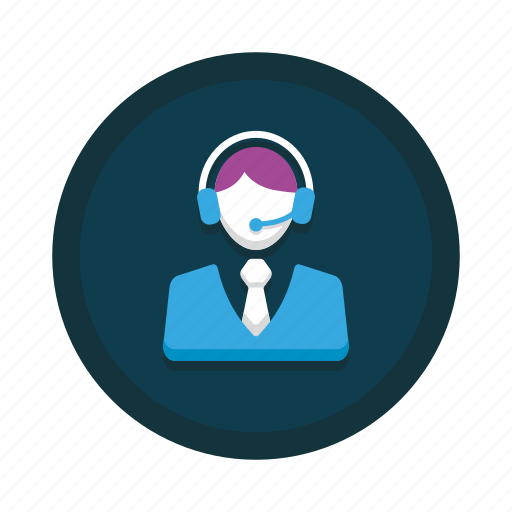 Customer, support, agent, call, center, representative, service icon - Download on Iconfinder