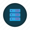 computing, data, database, hosting, network, server, storage icon