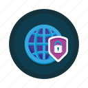 browser, encrypted, encryption, network, secured, security icon
