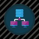 connection, data, database, databases, hosting, server, storage icon