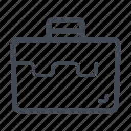 construction, handyman, storage box, tool box icon