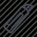 blade, cut, electrician, hand tool, handyman, utility knife icon