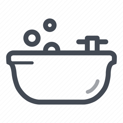 bath tube, bathroom, clean, house, plumber, water icon