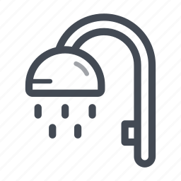 bathroom, house, plumber, shower, shower room, wash, water icon
