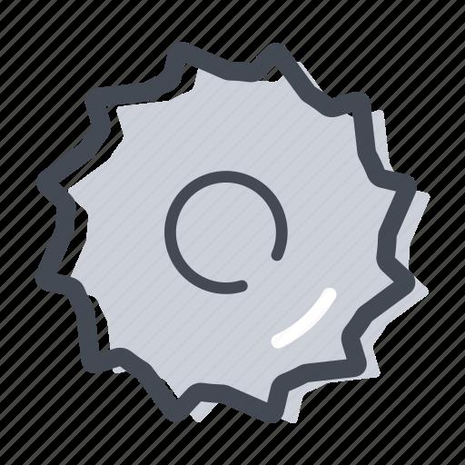 circular saw, construction, cut, handyman, saw blade, wood icon