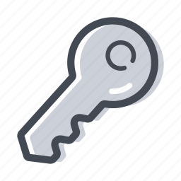 house key, key, open, unlock icon