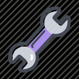 build, hand tool, handyman, repair, wrench icon