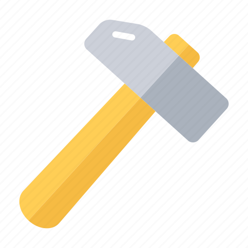construction, hammer, hand tool, handyman icon
