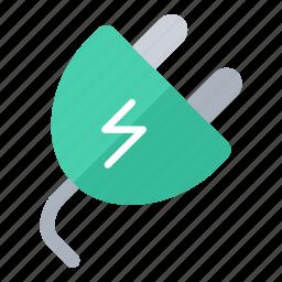construction, electrician, elektricity, plug, power plug icon