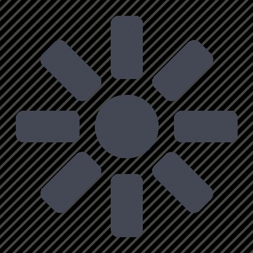bright, brightness, brightness control, brightness level icon