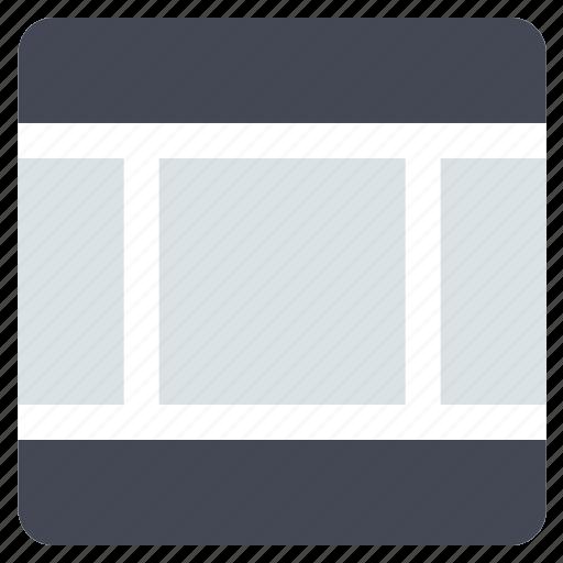 grid, interface, layout, sidebars, web grid, web layout, website icon