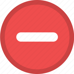 action, delete, delete action, minus, remove, remove action icon