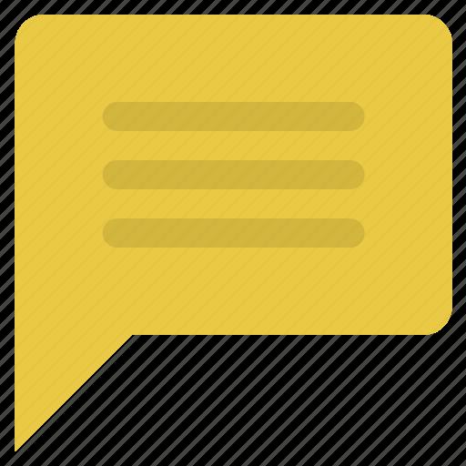 chat, chat bubble, chat comment, comment, message, speech, speech bubble icon