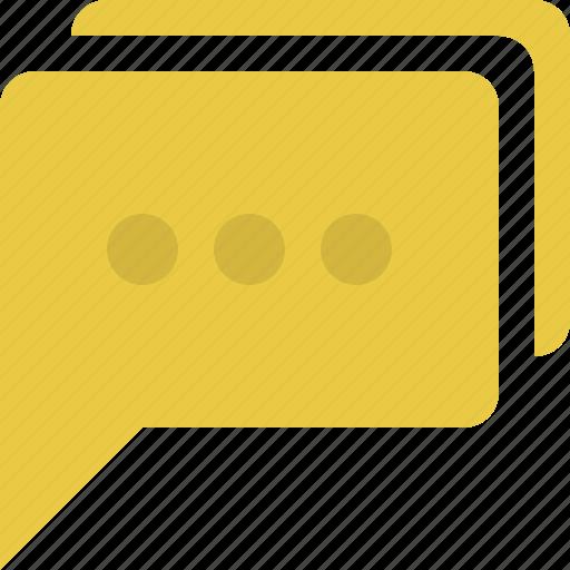 chat, chat bubble, comments, conversation, message, speech, speech bubble icon
