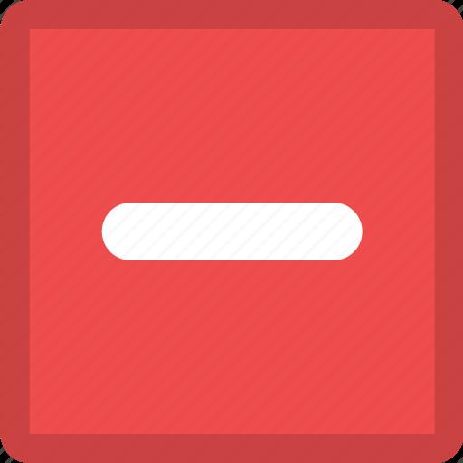 delete, delete action, minus, remove, remove action icon