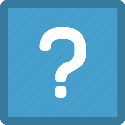 ask, question, question mark icon