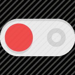 slide, slider, toggle icon