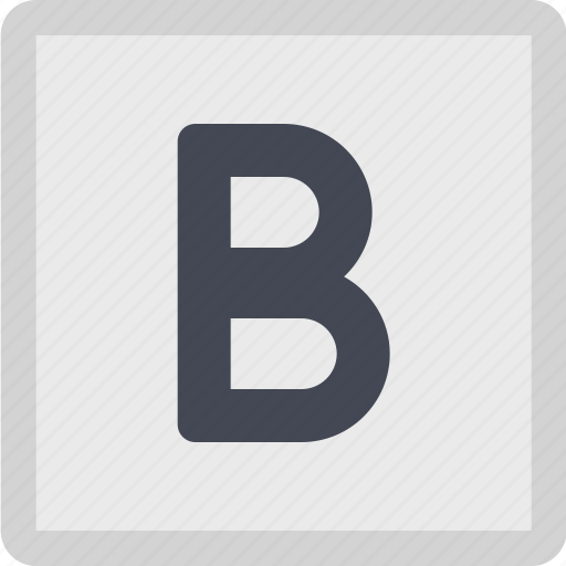 bold, font style, strong, text style, typography icon