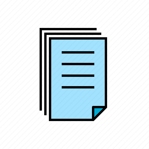checklist, documents, files, list, note, paper icon