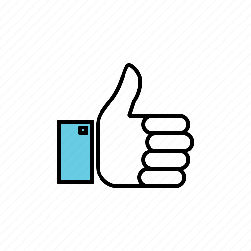 hand, like, thumbs up, vote icon