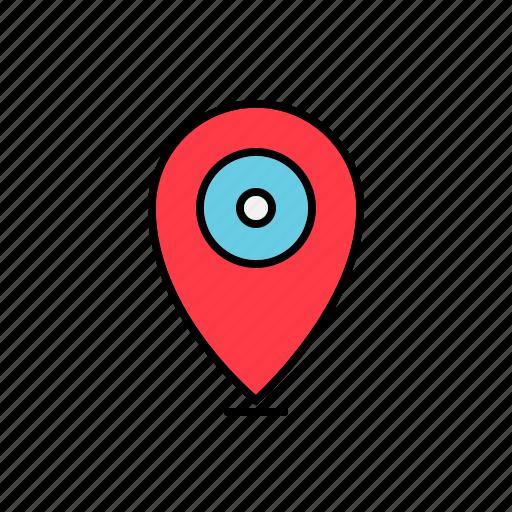 address, local, location, map, marker icon
