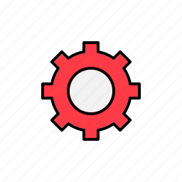 customize, gear, options, preferences, settings icon