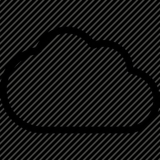cloud, memory, storage, upload, weather icon