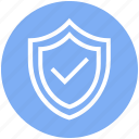 antivirus, check, defense, protect, protection, security, shield