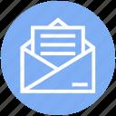 address, communication, email, envelope, letter, mail, message